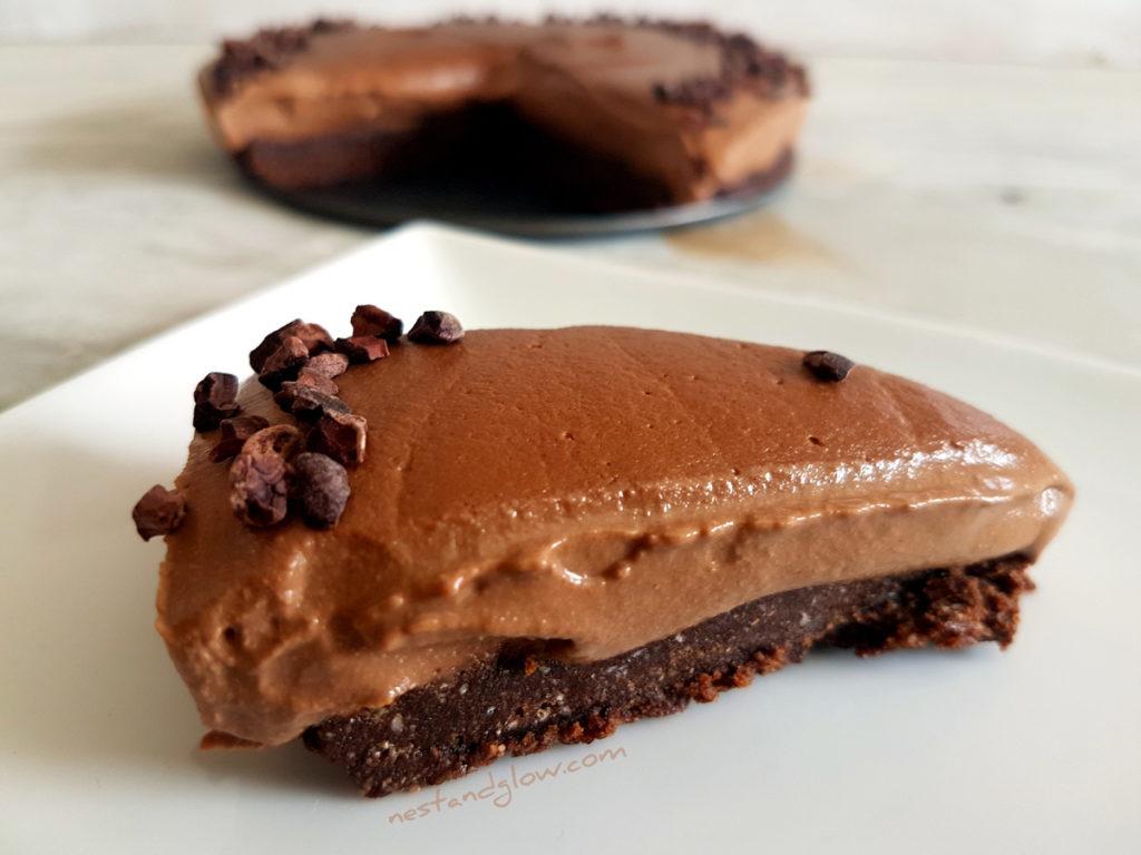 Vegan Mocha Coffee Cashew Dreamcake recipe