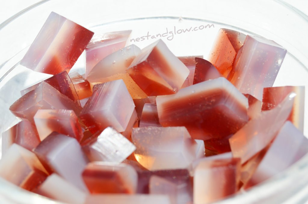 Gemstone Fruit Jelly Sweets - Vegan and Veggie