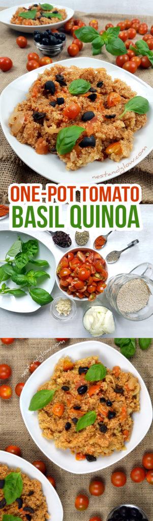 One-pot Tomato BasilQuinoa Easy Recipe
