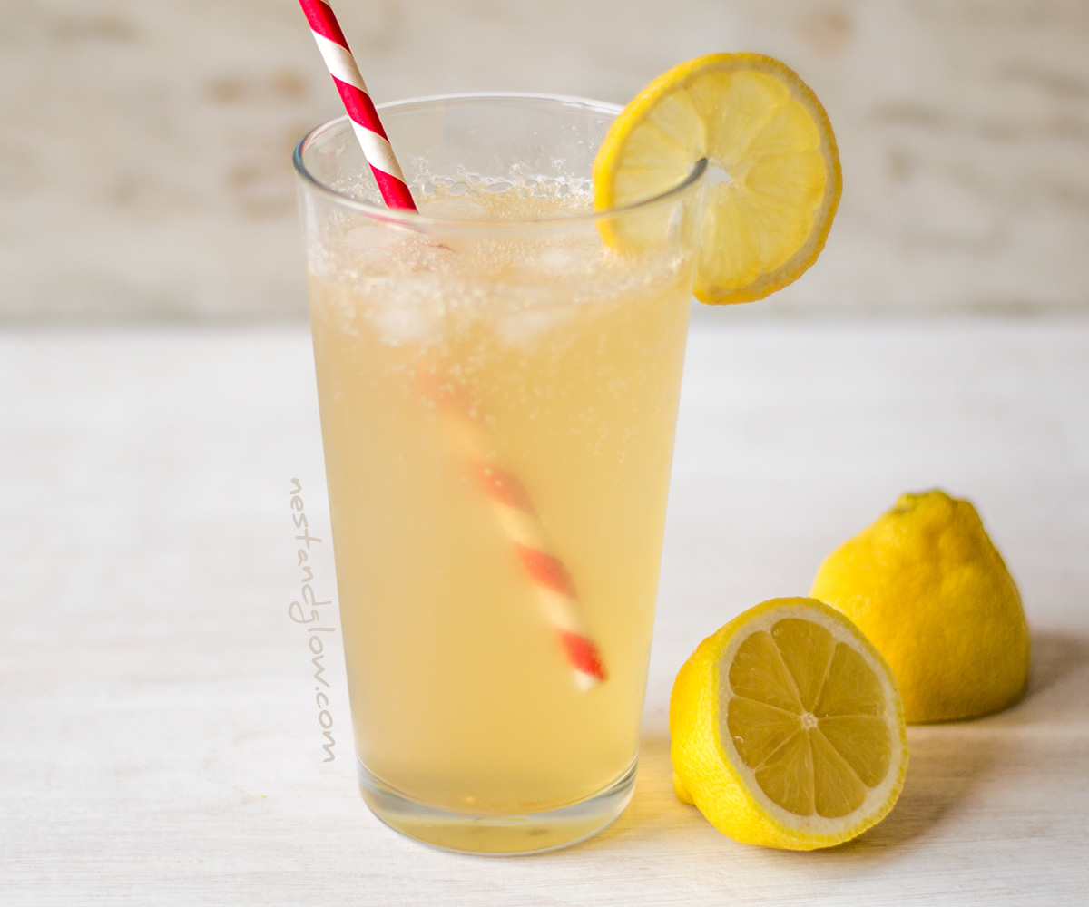Apple Cider Vinegar Lemonade Recipe - Quick, Fresh and Healthy