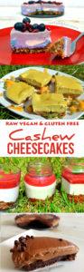 Cashew Cheesecake Recipes - Raw Vegan & Gluten-free