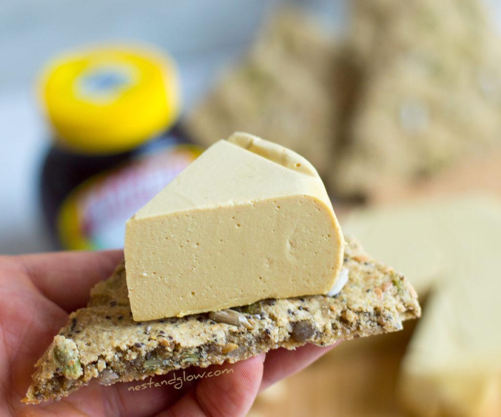 Marmite Cashew Cheese Wedge