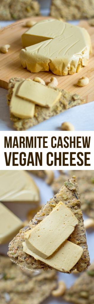 Marmite cashew vegan cheese recipe easy and heart healthy for Homemade marmite recipe