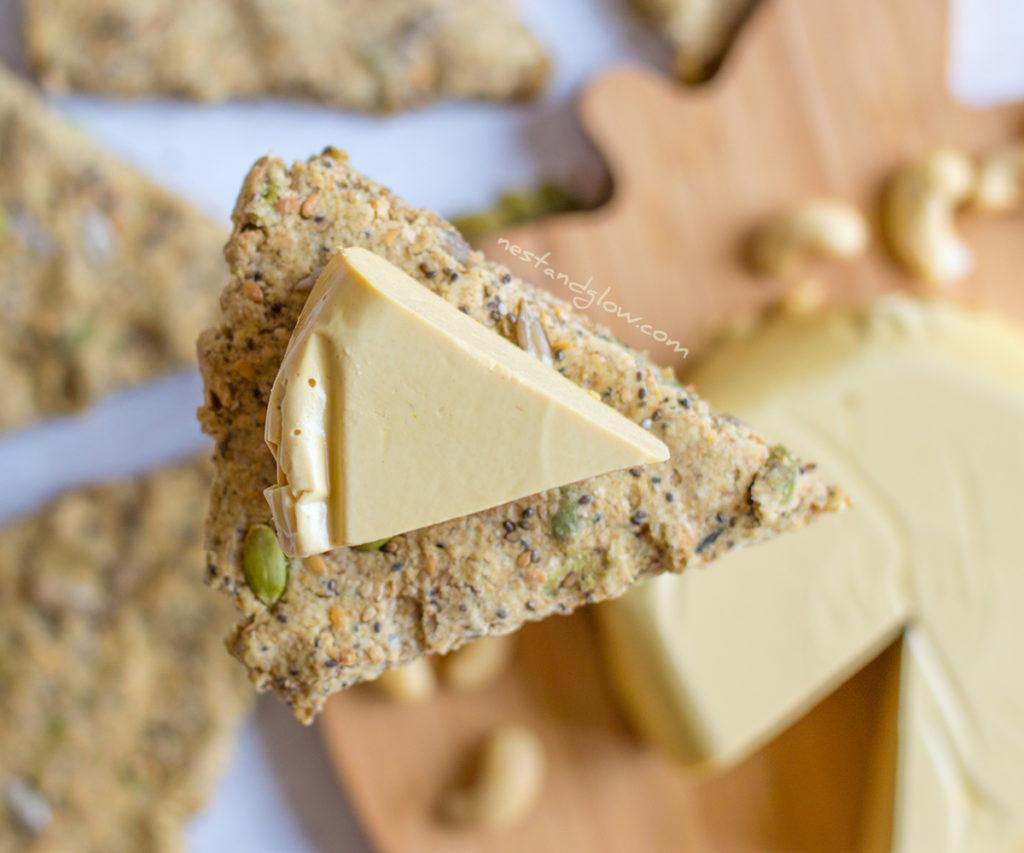 Marmite Cashew Heart-healthy Cheese