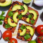 Mexican Quinoa Flatbread