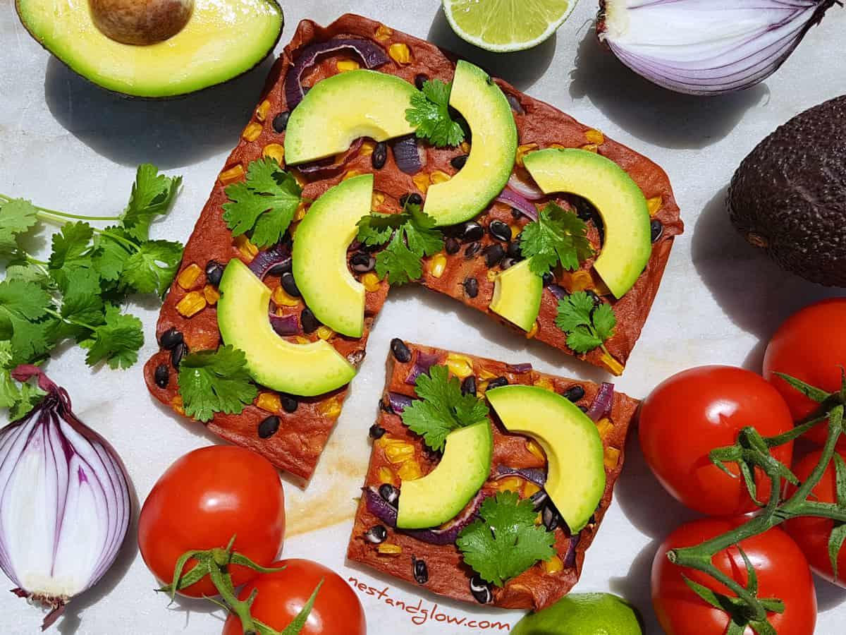 Mexican Quinoa Flatbread Gluten Free Recipe