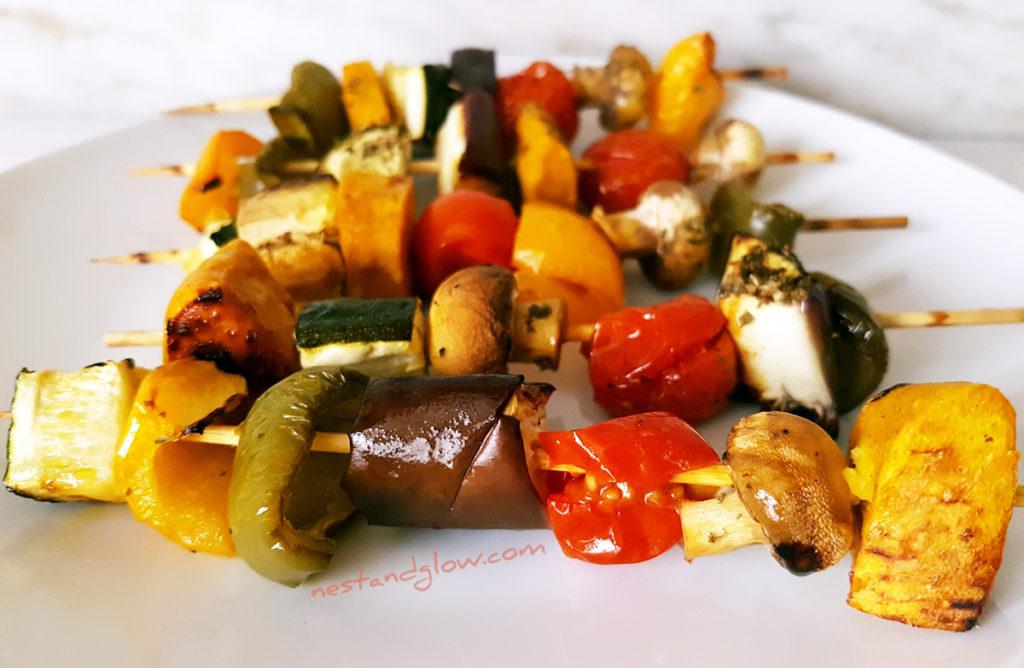 Chickpea Tofu Kebabs Recipe