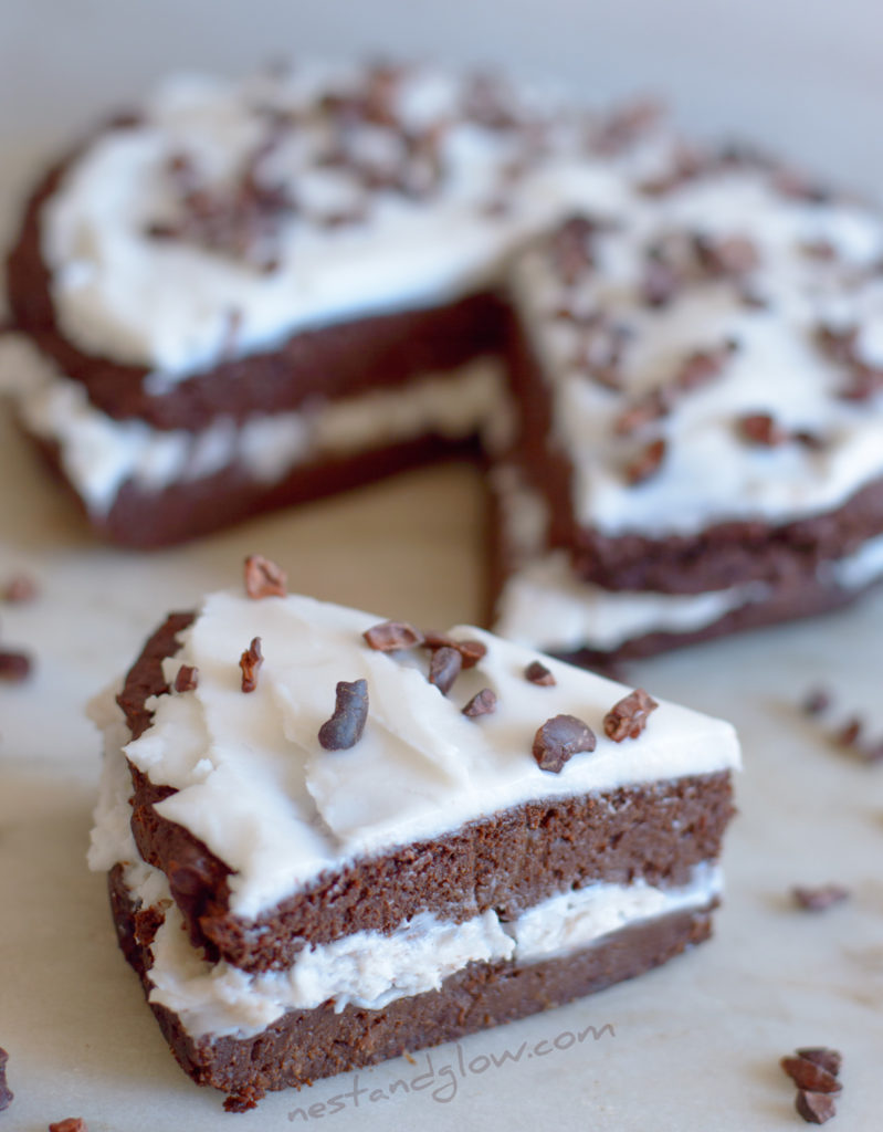 Kidney Bean and Coconut Chocolate Cake Healthy Recipe