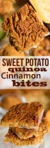 Sweet Potato Quinoa Cinnamon Bites Recipe - Vegan and Gluten-free