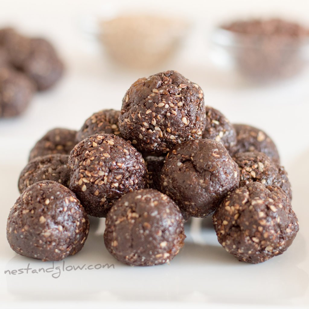 halva sesame chocolate raisin recipe
