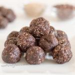 Halva Sesame Chocolate Raisin Balls