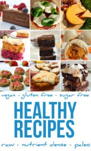 Healthy Recipe Index - Vegan, Plant-based & Gluten-free