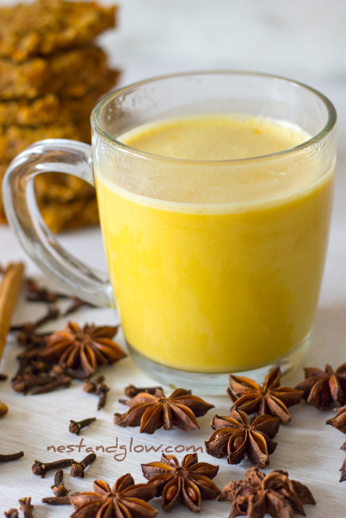 Pumpkin Spice Dairy-free Cashew Latte