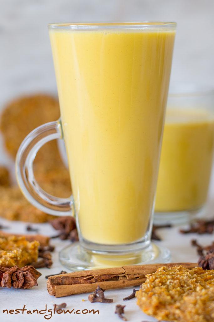 Pumpkin Spice Healthy Latte