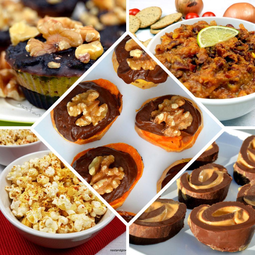 healthy finger buffet food recipes