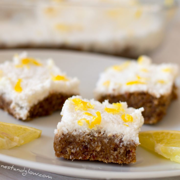 Raw Lemon Cake