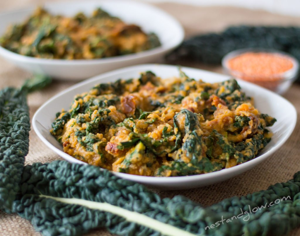 Kale And Sweet Potato Dahl Recipe Easy Vegan Cheap And