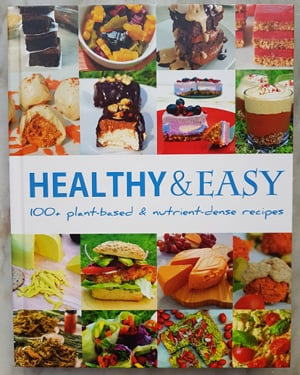 Healthy and Easy Hardback Book