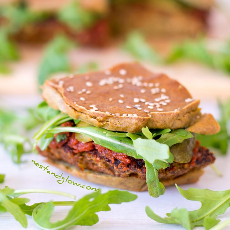 Quinoa Veggie Sliders - Vegan and Gluten Free