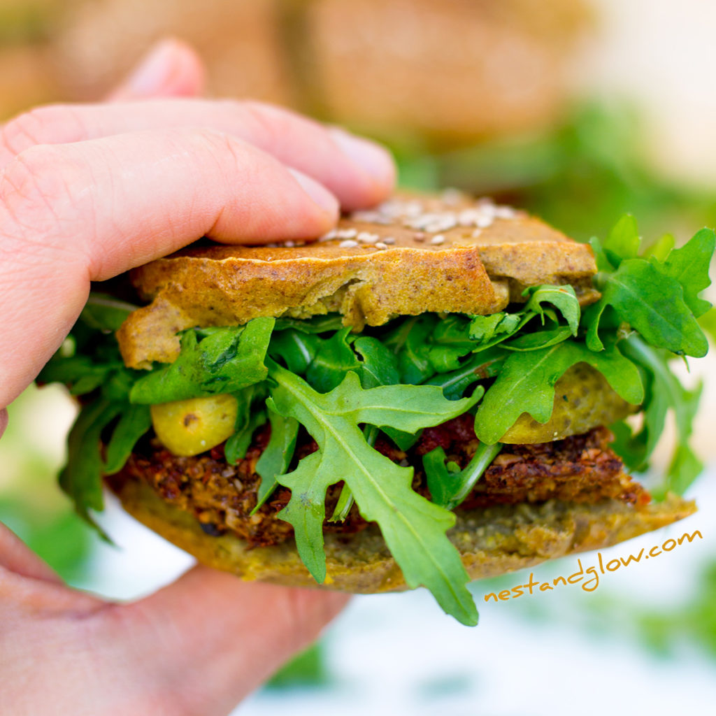 Quinoa Veggie Burger Sliders Recipe
