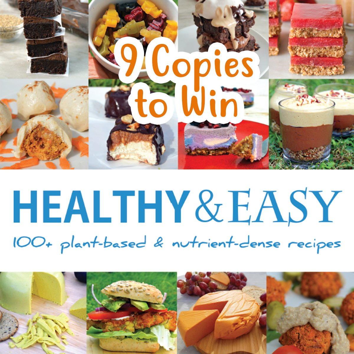 Win a copy of healthy and easy recipe book