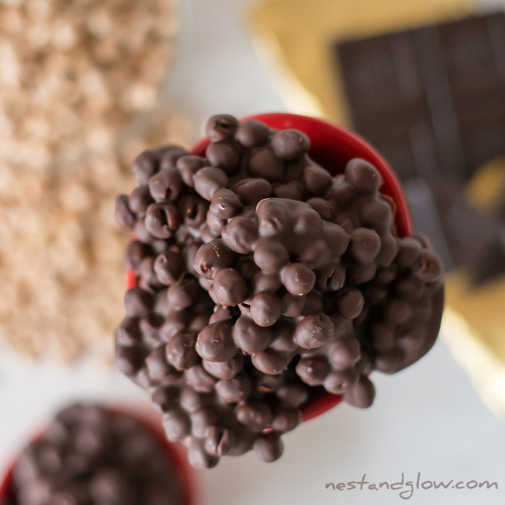Easy recipe for plant protein vegan candy