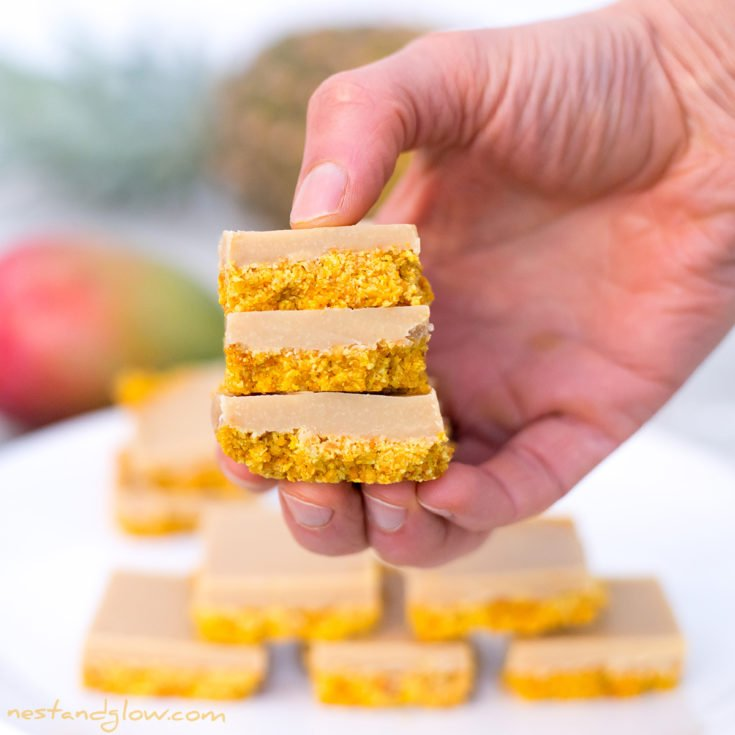 Mango Pineapple Smoothie Fudge