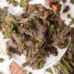 Chocolate Sunflower Kale Chips