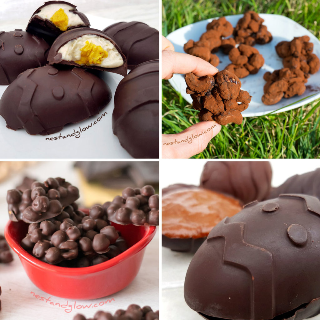 healthy easter chocolate recipes