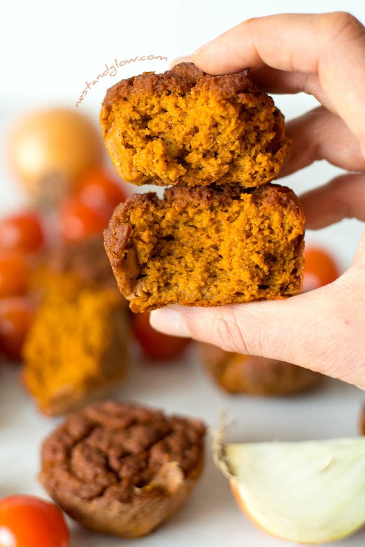Sundried Tomato Quinoa Muffins - Gluten Free