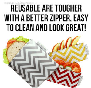 eco snack bags are easier to use and look great
