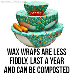 natural wax wraps replace plastic wrap
