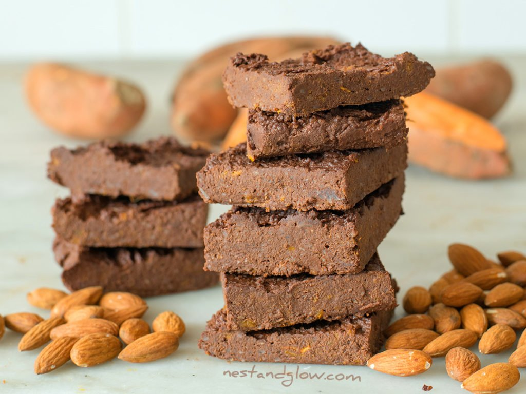 3 ingredient healthy chocolate brownies