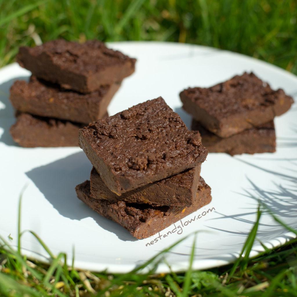 simple healthy brownies