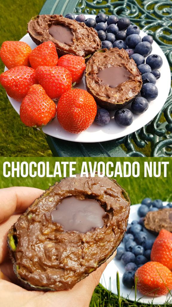 Easy to make heart-healthy dairy free pudding made from just avocado, nut butter and chocolate. Use whatever chocolate or nut butter you like. I make it with dark chocolate and almond butter, but most work great! #vegan #veganrecipe #healthyrecipe #avocado #chocolate