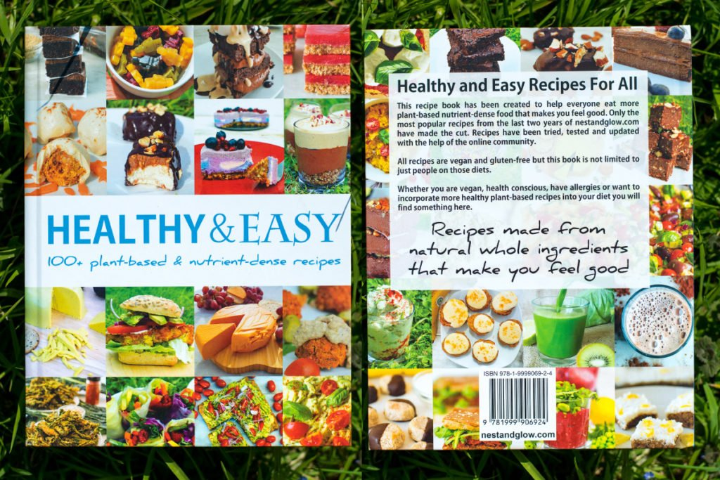 healthy and easy recipe book by nest and glow bastian durward
