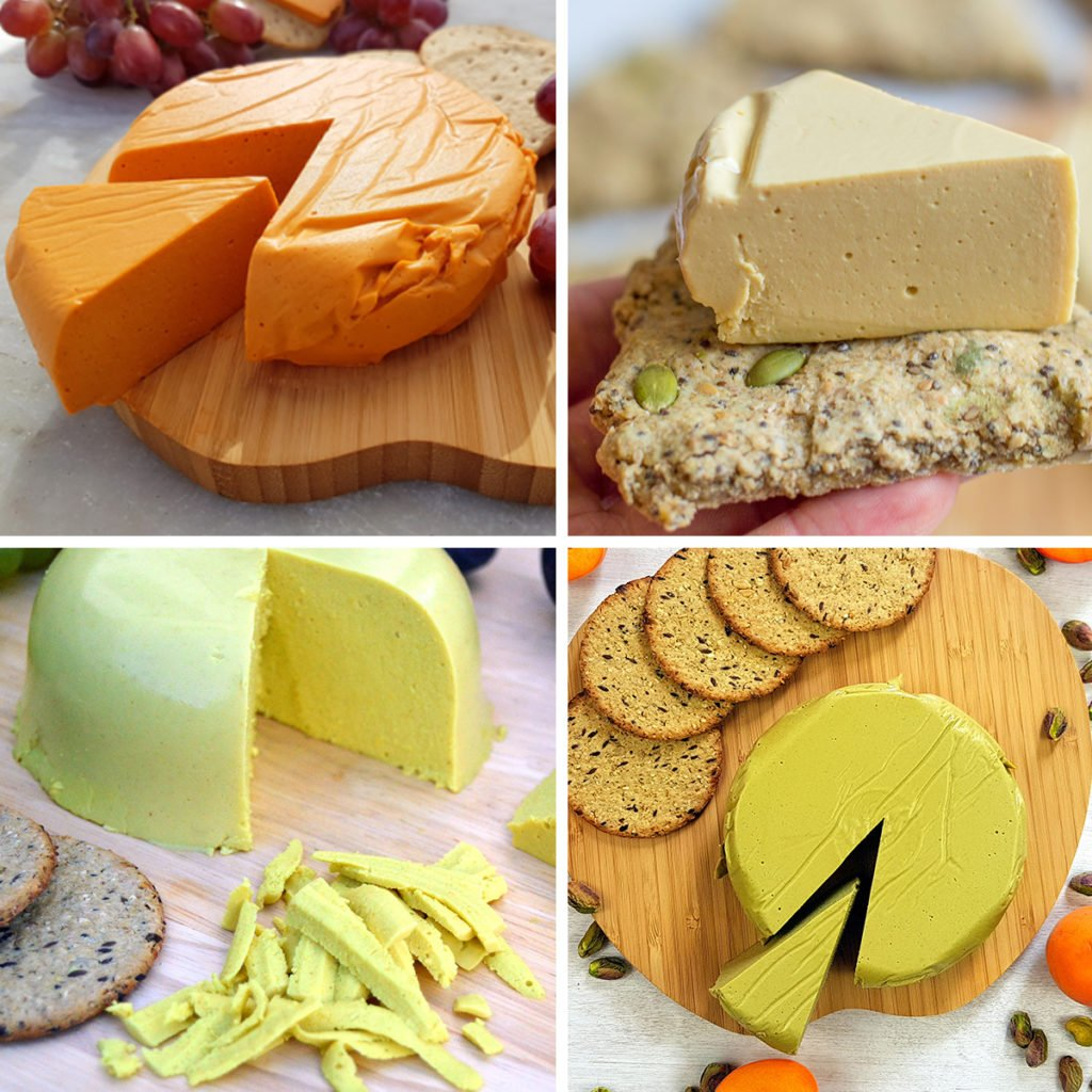 Vegan Hard Cheese Recipes - Sliced or Grated For Pizza and Vegan Cheddar
