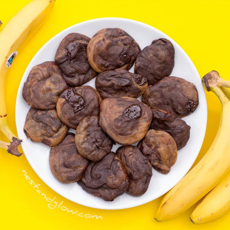 quinoa chocolate chip banana cookies