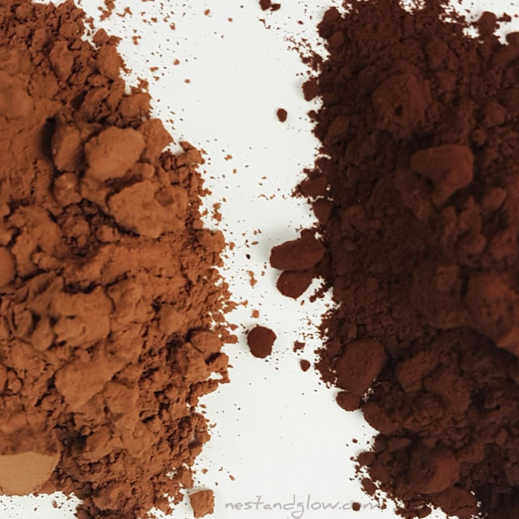 cocoa powder vs cacao powder