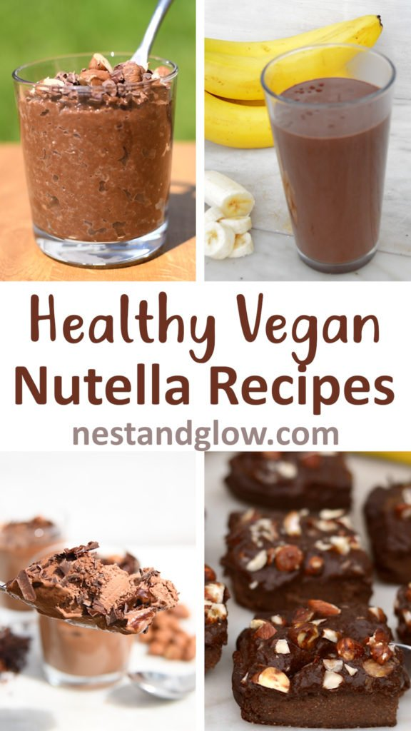 healthy vegan nutella recipes