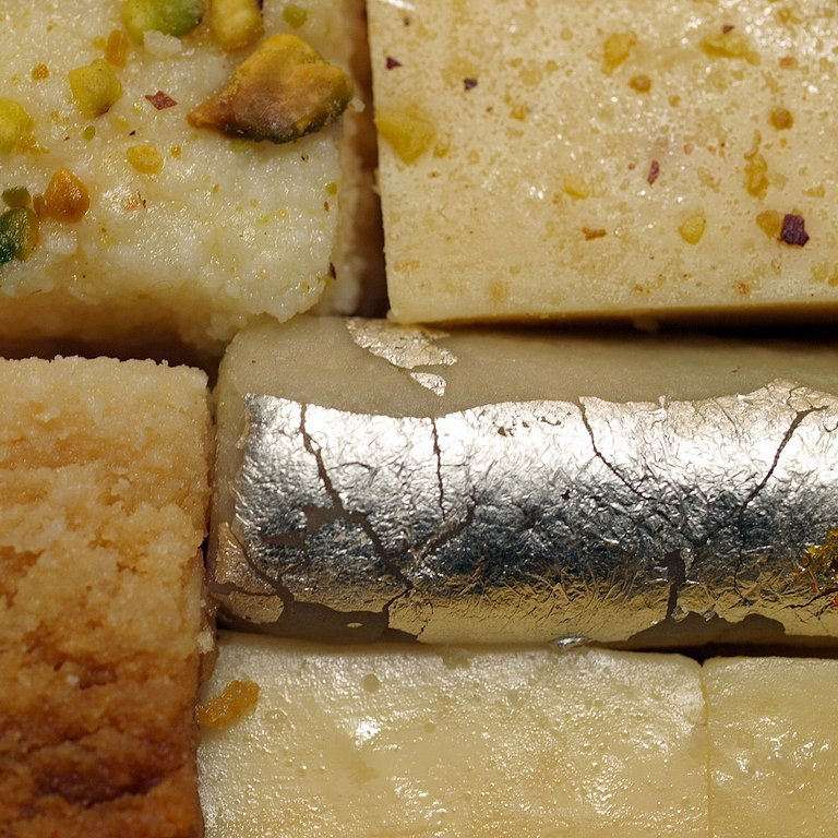 indian sweets silver leaf