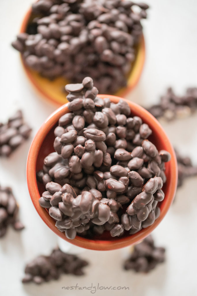 peanut dark chocolate candy