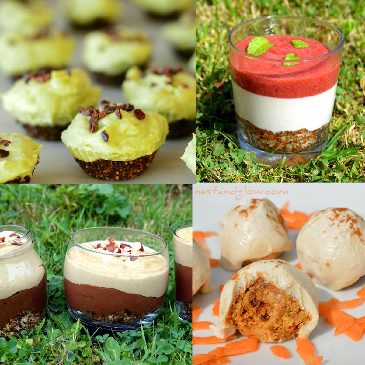 Whole Food Plant Based Desserts Nest And Glow