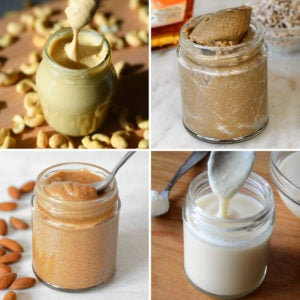 homemade nut seed butter recipes and tips