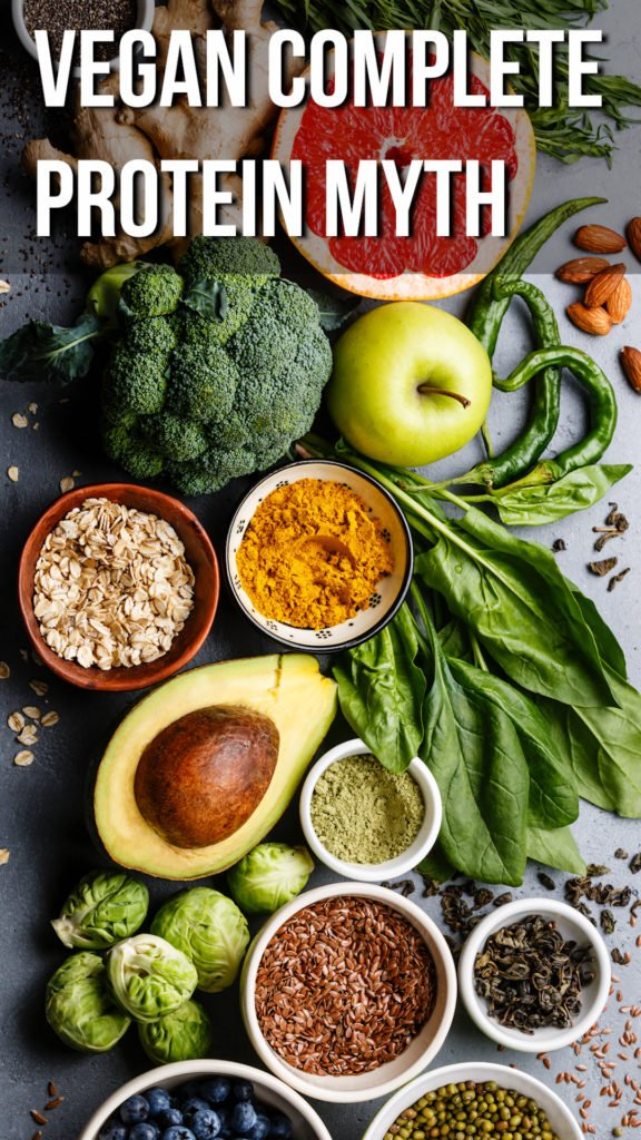 The Complete Protein On A Vegan Diet Myth and Why It's Not Important #vegan #plantbased #health #veganlifestyle #veganfood
