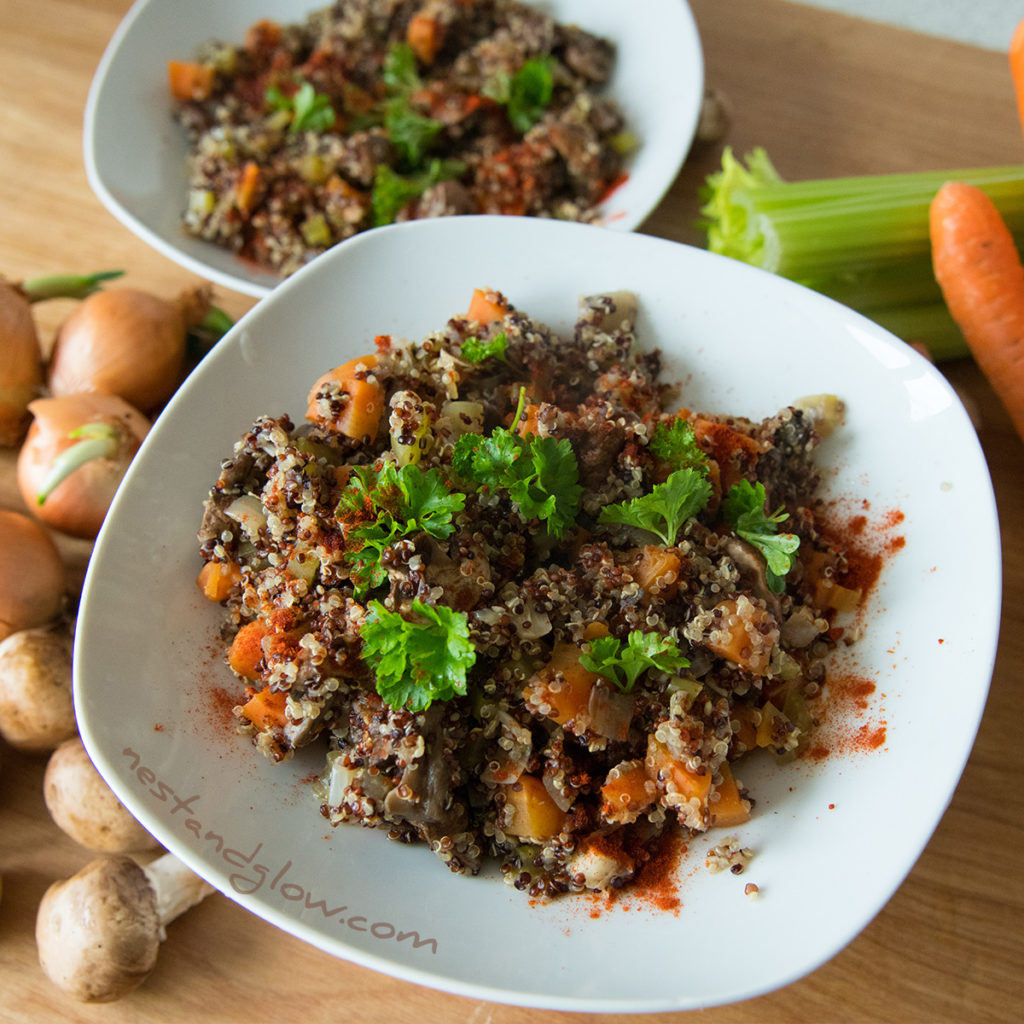 healthy quinoa Risotto