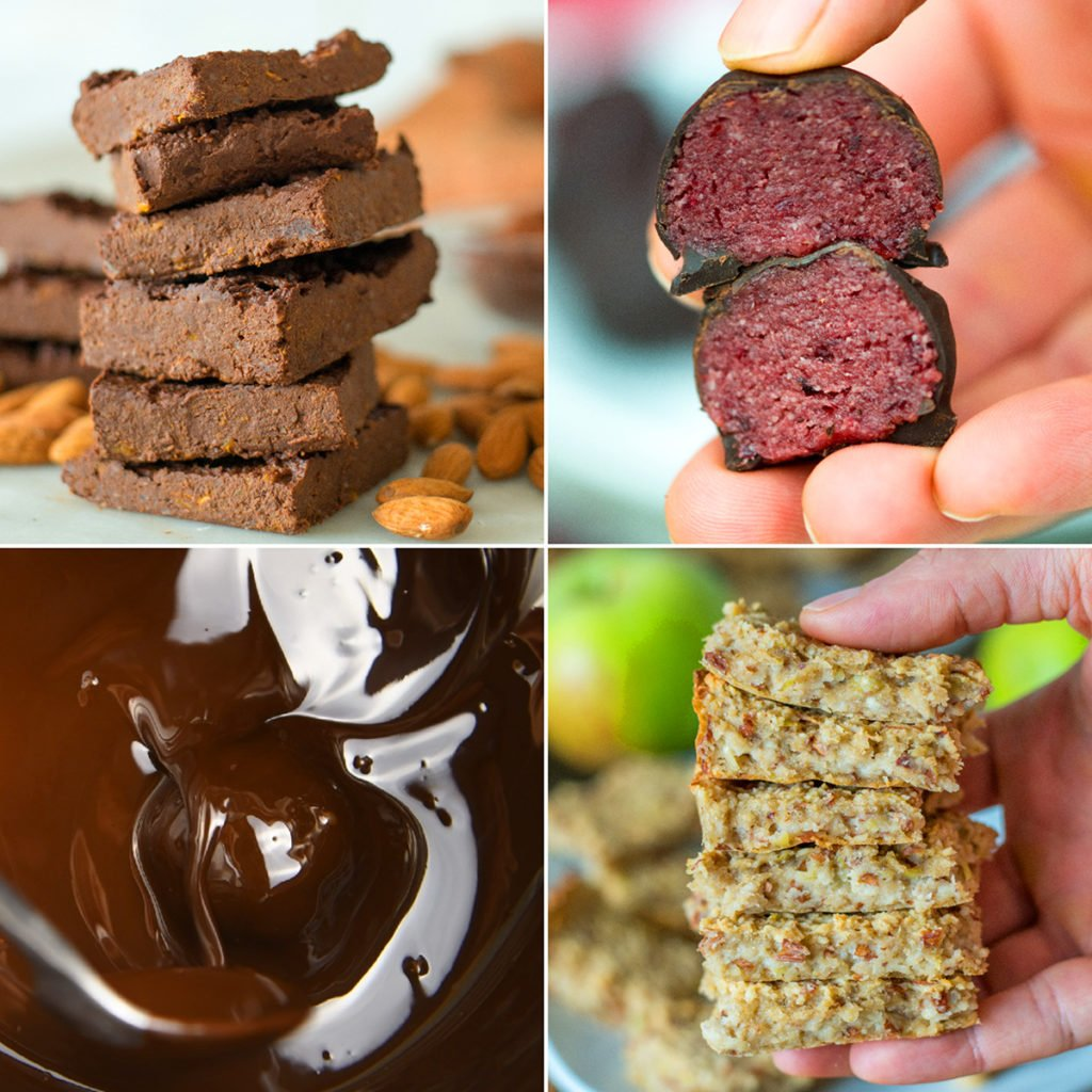3 ingredient healthy sweet snacks