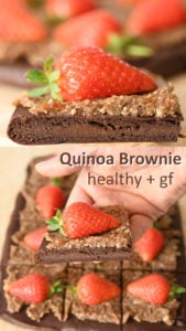 Quinoa brownie recipe