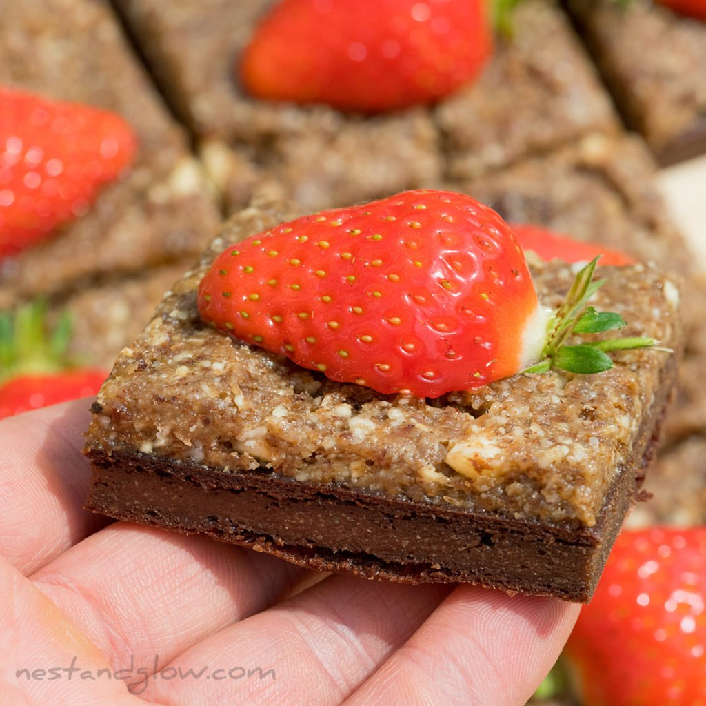 these healthy brownies use whole quinoa rather than quinoa grain. making them easy to make and inexpensive