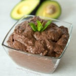 Chocolate Avocado Hummus